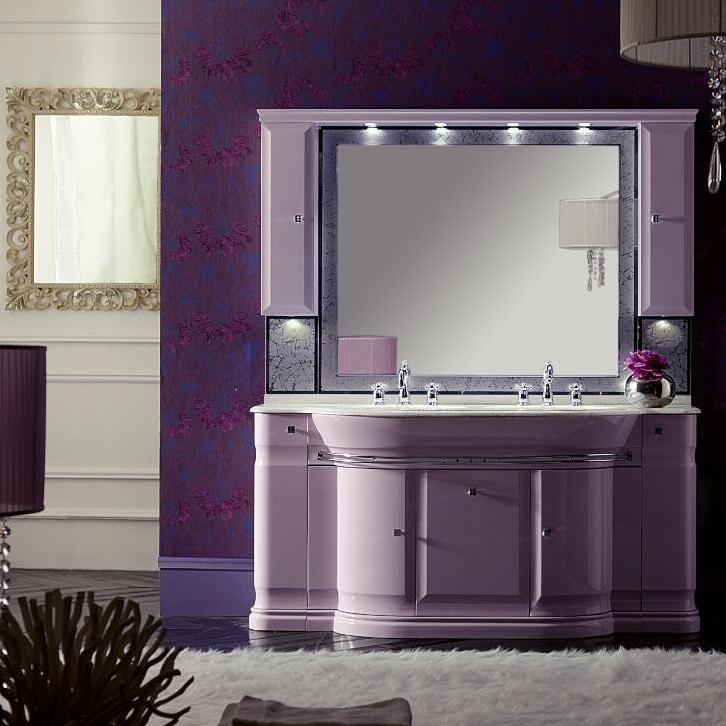 Комплект мебели Eurodesign Luxury Композиция № 6, Lilla Lucido/Лиловый окрашеный
