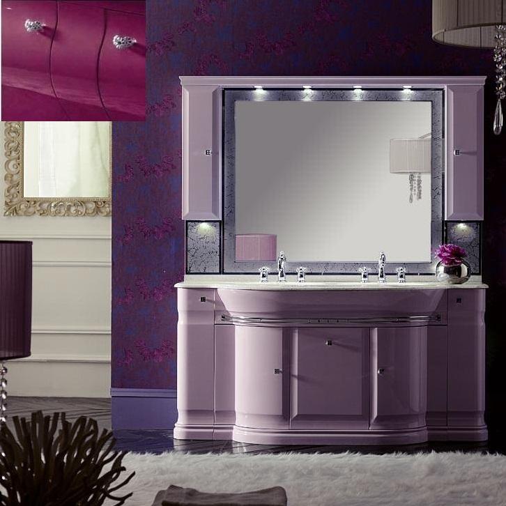 Комплект мебели Eurodesign Luxury Композиция № 6, Prugna Lucido/Сливовый глянцевый