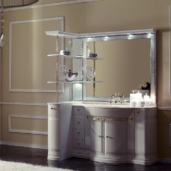 Комплект мебели Eurodesign Luxury Композиция № 7, Bianco Lucido/Белый глянцевый