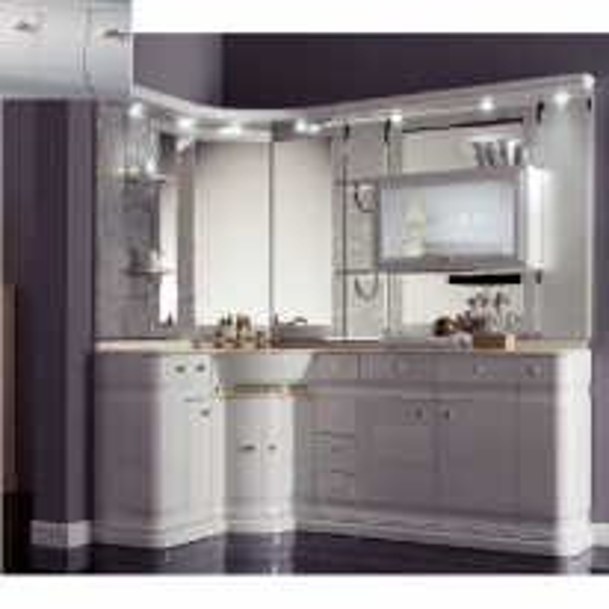 Комплект мебели Eurodesign Luxury Композиция № 15, Grigio Lux Lucido/Серый глянцевый
