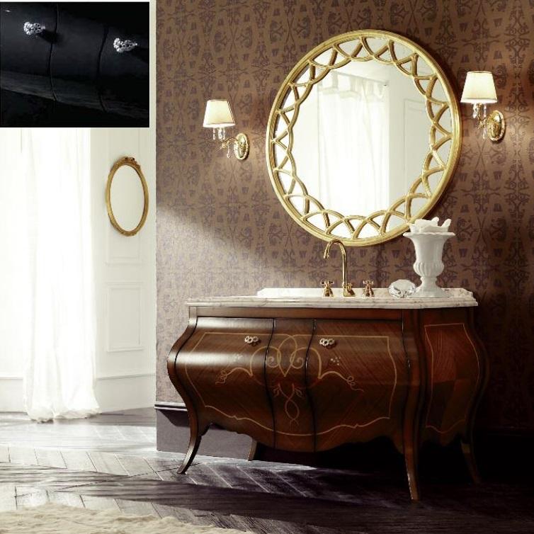 Комплект мебели Eurodesign Prestige Композиция № 2, Nero Lucido/Черный окрашеный
