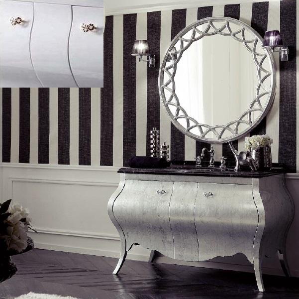 Комплект мебели Eurodesign Prestige Композиция № 3, Bianco Lucido/Белый окрашеный