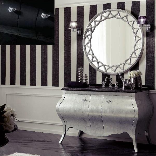 Комплект мебели Eurodesign Prestige Композиция № 3, Nero Lucido/Черный окрашеный