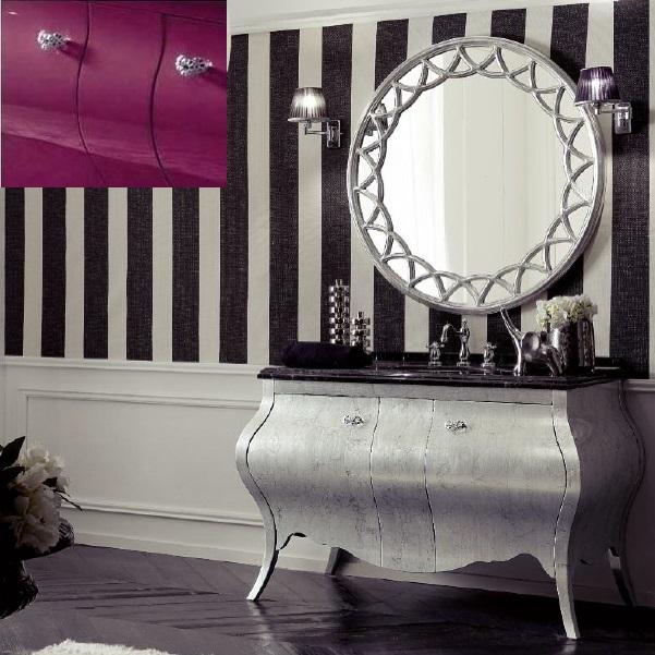 Комплект мебели Eurodesign Prestige Композиция № 3, Prugna Lucido/Сливовый глянцевый