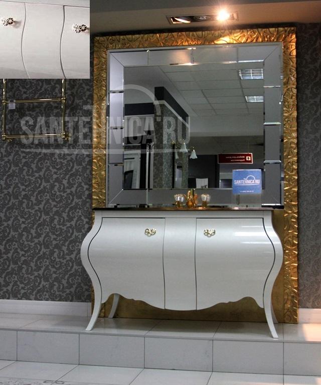 Комплект мебели Eurodesign Prestige Композиция № 4, Avorio Perlato/Аворио жемчужный