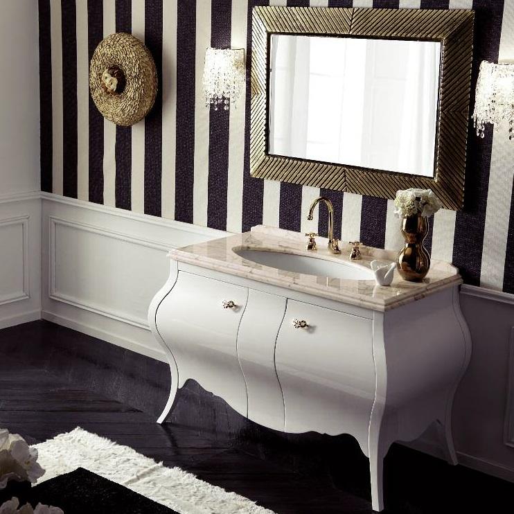 Комплект мебели Eurodesign Prestige Композиция № 5, Bianco Lucido/Белый окрашеный