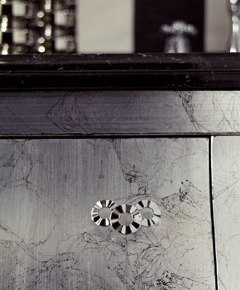 Комплект мебели Eurodesign Prestige Композиция № 5, Tortora Perlato Lucido/Темно-серый пераламутровый глянец