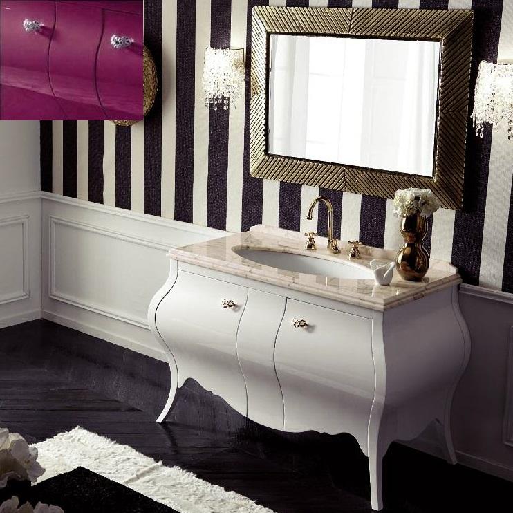 Комплект мебели Eurodesign Prestige Композиция № 5, Prugna Lucido/Сливовый глянцевый