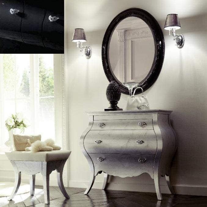 Комплект мебели Eurodesign Prestige Композиция № 6/B, Nero Lucido/Черный окрашеный