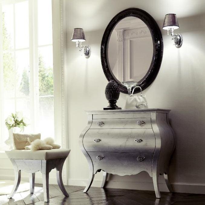 Комплект мебели Eurodesign Prestige Композиция № 6/B, Argento/Серебро