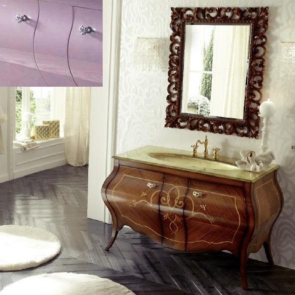 Комплект мебели Eurodesign Prestige Композиция № 7, Lilla Lucido/Лиловый окрашеный
