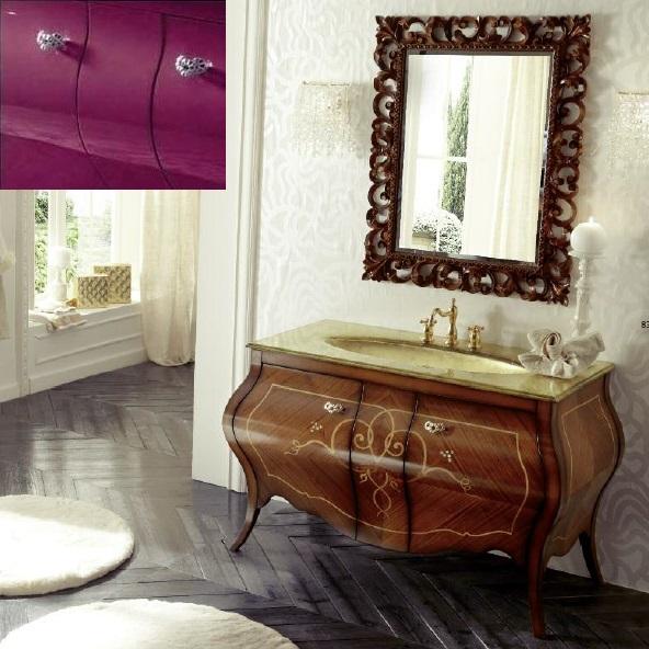 Комплект мебели Eurodesign Prestige Композиция № 7, Prugna Lucido/Сливовый глянцевый