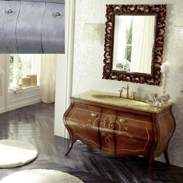 Комплект мебели Eurodesign Prestige Композиция № 7, Argento/Серебро
