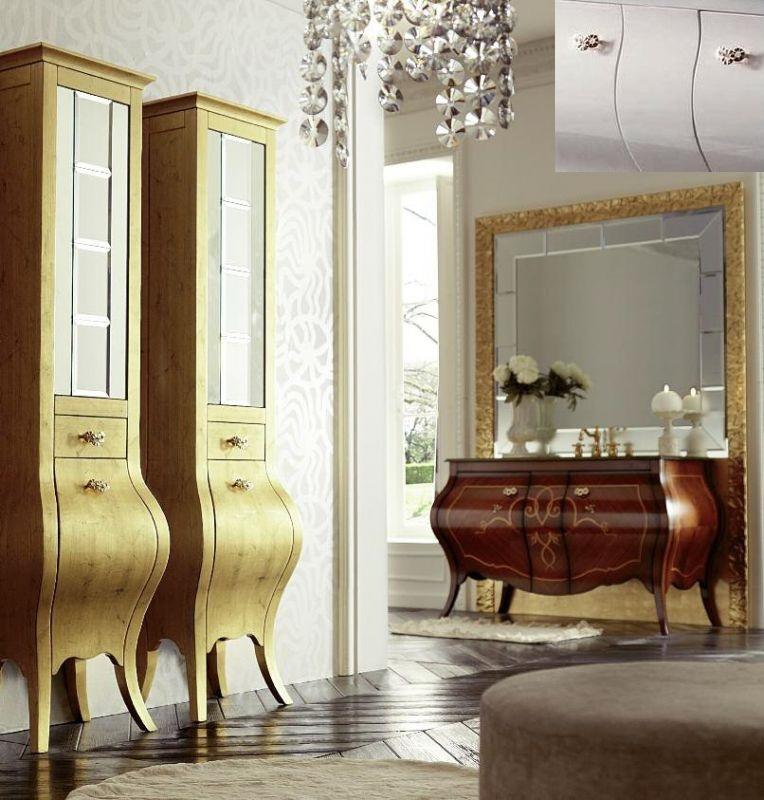 Шкаф Eurodesign Prestige арт. PRES-VT VETRINA, Avorio Perlato/Аворио жемчужный