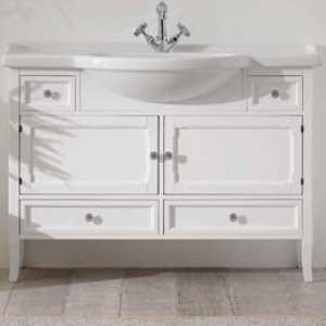 Комплект мебели для ванной Eban Arianna 120 FBSAR120-B bi decape*6, белый