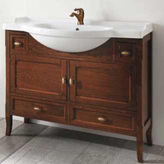 Комплект мебели для ванной Eban Arianna 120 FBSAR120-N noce*6, грецкий орех