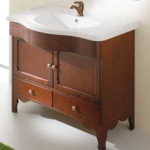Комплект мебели для ванной Eban Federica 70 FBSFD070-N noce*4, орех