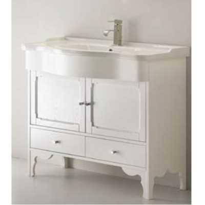 Комплект мебели для ванной Eban Federica 90 FBSFD090-B bi decape*4, белый