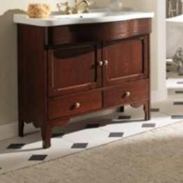 Комплект мебели для ванной Eban Federica 90 FBSFD090-N noce*4, орех