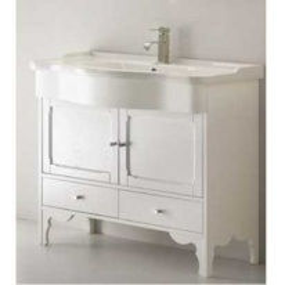 Комплект мебели для ванной Eban Federica 105 FBSFD105-B bi decape*4, белый