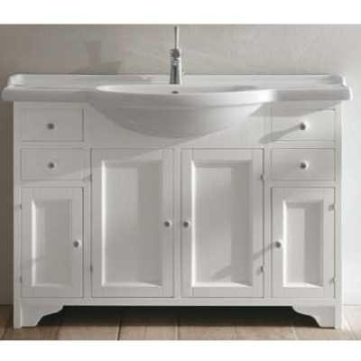 Комплект мебели для ванной Eban Gemma 120 FBSGM120-B bi decape*8, белый