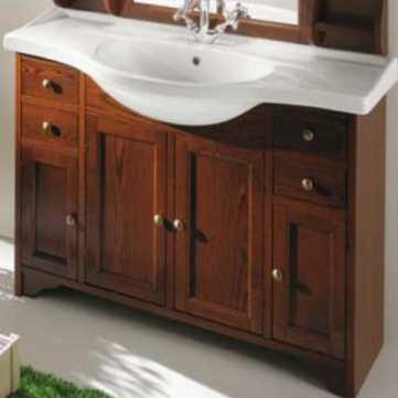 Комплект мебели для ванной Eban Gemma 120 FBSGM120-N noce*8, орех