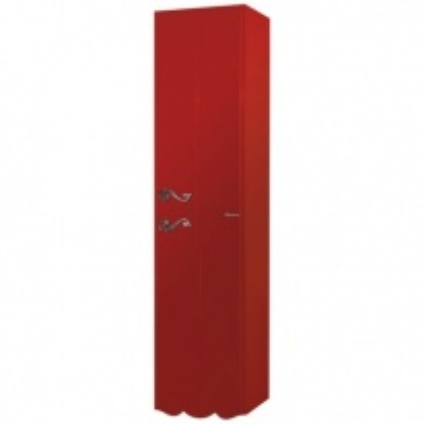 Пенал Bellezza Эстель 40 L/R, подвесной, цвет красный