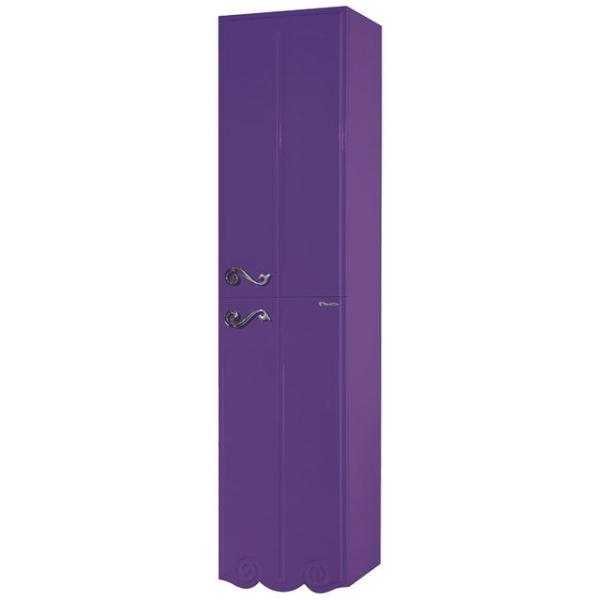Пенал Bellezza Эстель 40 L/R, подвесной, цвет фиолетовый