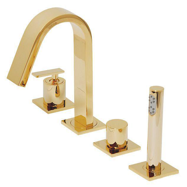 Смеситель Migliore Alimatha ML.ALC-5755.DO для ванны/душа - золото