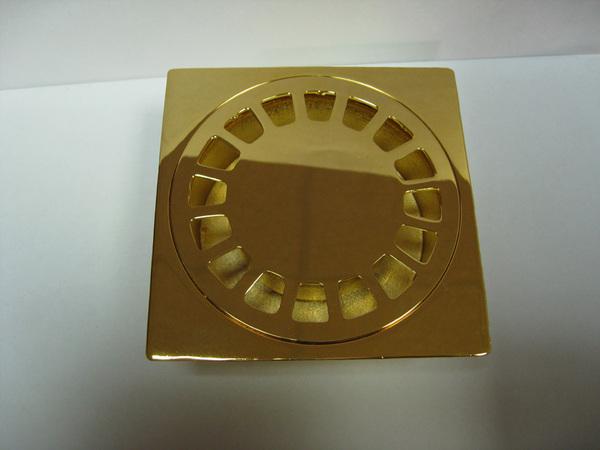 Трап душевой Migliore Bangkok ML.RIC-10.104.DO, золото