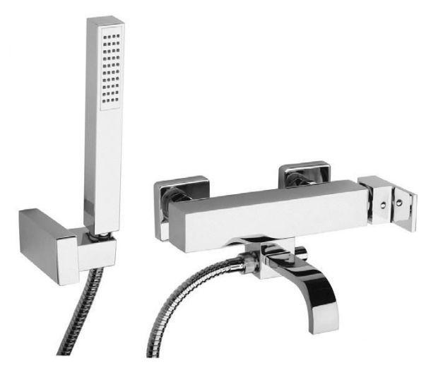Смеситель Paini Dax-R-Dax 84CR105R для ванны и душа с душевым гарнитуром