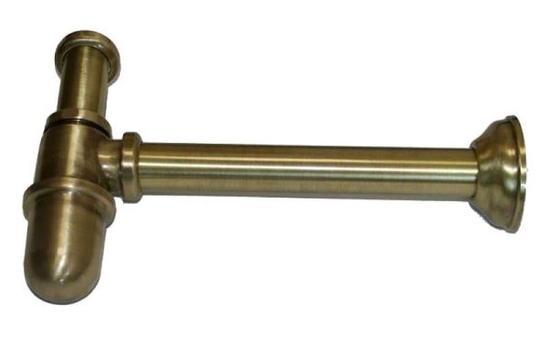 Сифон для раковины Migliore ML.RIC-10.102BR - бронза, ø32
