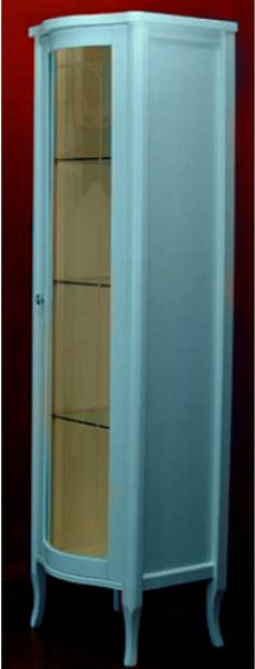 Витрина Migliore Bella ML.BLL-VT451.DB со стеклянной дверцей, нежно-голубой