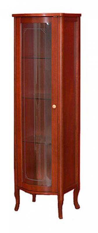 Витрина Migliore Bella ML.BLL-VT451.NC со стеклянной дверцей, орех