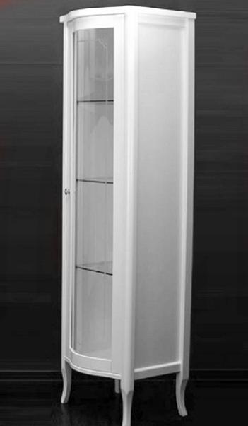 Витрина Migliore Bella ML.BLL-VT451.AV со стеклянной дверцей, белый