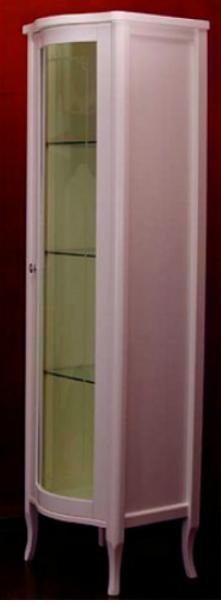 Витрина Migliore Bella ML.BLL-VT451.DR со стеклянной дверцей, нежно-розовый