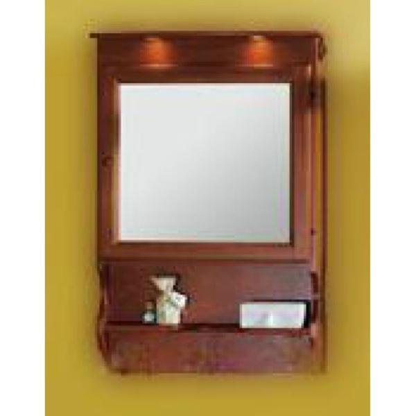 Зеркало-шкаф Migliore Bella ML.BLL-CS448.NC, грецкий орех