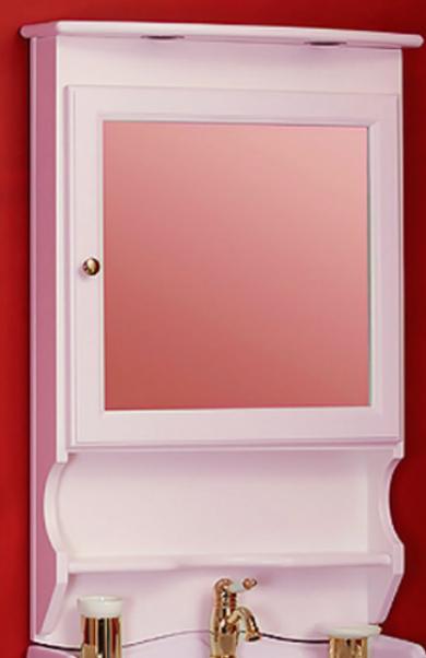 Зеркало-шкаф Migliore Bella ML.BLL-CS448.DR, нежно-розовый