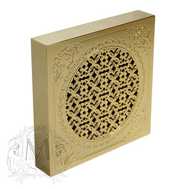 Вентилятор Migliore VentiLaTorro 120, ML.VTR-50.512, для ванной комнаты с декоративной решеткой, бронза