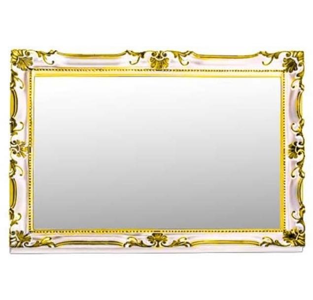 Зеркало Migliore Complementi ML.COM-70.504.AV.DO - белое золото