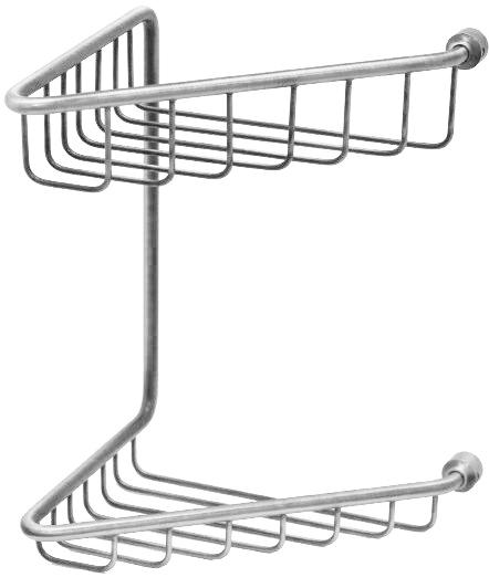Полка-решетка двойная Migliore Complementi ML.COM.CR-50.112.CR - хром