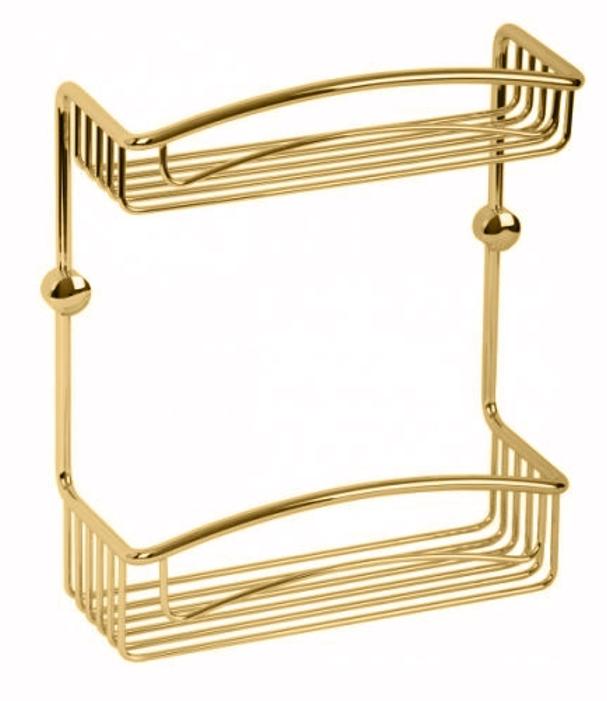 Решетка двойная Migliore Complementi ML.COM.DO-50.600 - золото