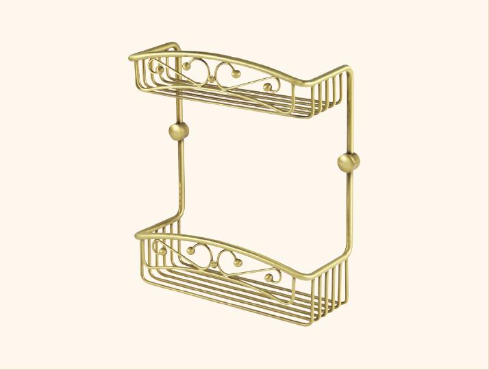 Решетка двойная Migliore Complementi ML.COMDO-50.602 - золото