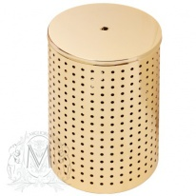 Корзина для белья Migliore Complementi арт. ML.COMDO-50.140 - золото, В58*Ш40 см