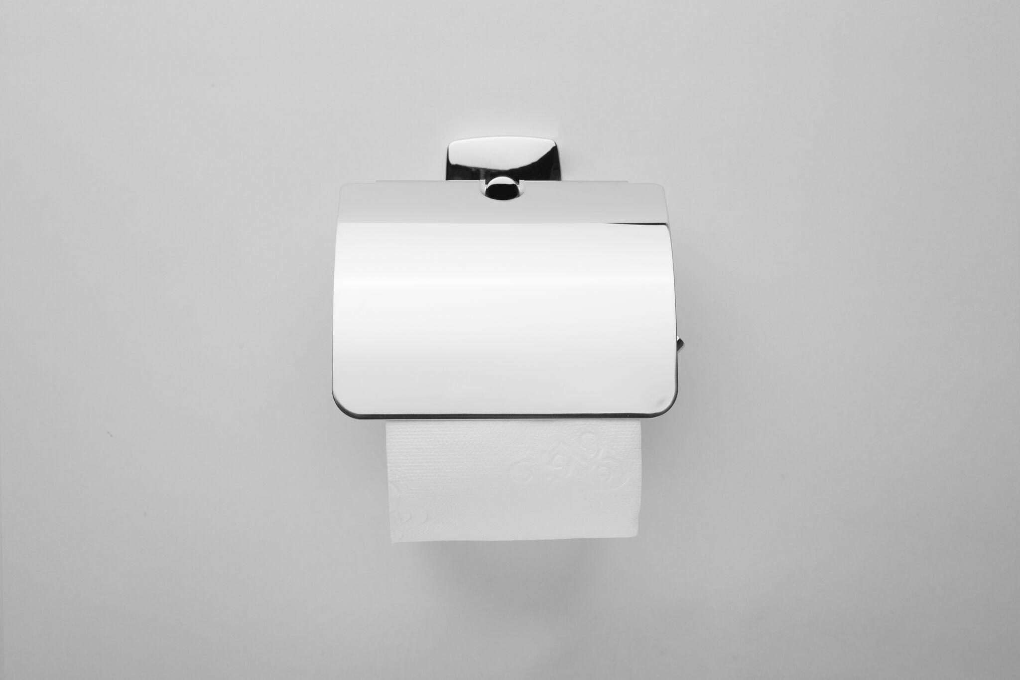 Держатель туалетной бумаги Am.Pm Gem A90341400 с крышкой
