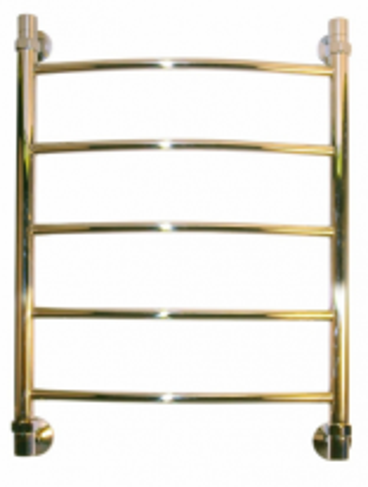 Полотенцесушитель водяной Ника Arc ЛД 60x50-5-Br, цвет бронза