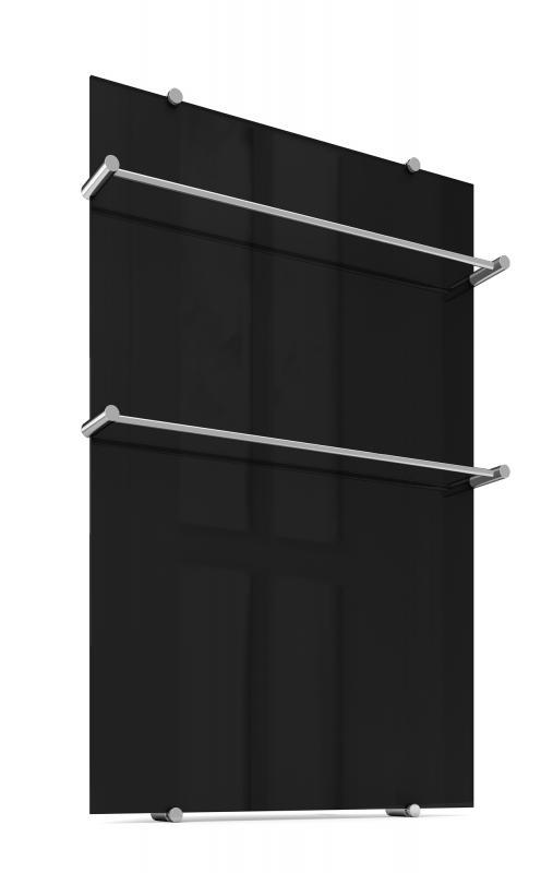 Полотенцесушитель Теплолюкс Flora 60 x90 см черный 4305057022000008