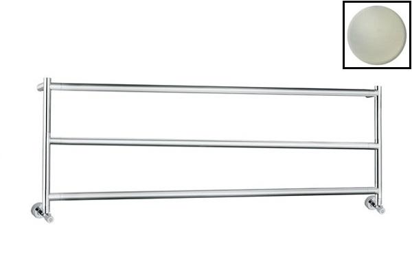 Полотенцесушитель водяной Margaroli Sereno 4-430/3 арт. 43011683SN, сатин/никель (Satin/nickel)