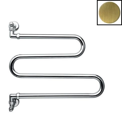 Полотенцесушитель Margaroli Vento водяной арт. 406OB, старая бронза (Old brass)