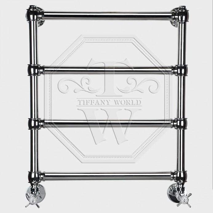 Полотенцесушитель водяной Tiffany арт. TW 600GVS для систем ГВС, 50хh60 см, хром